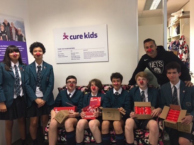 Yr 10 community project-  Cure Kids name